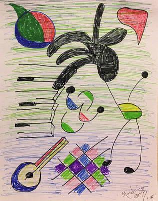 Jazz In The Night Art Print