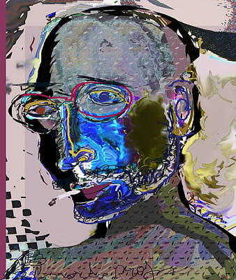Self-portrait Mixed Media - Jazz June by Noredin Morgan