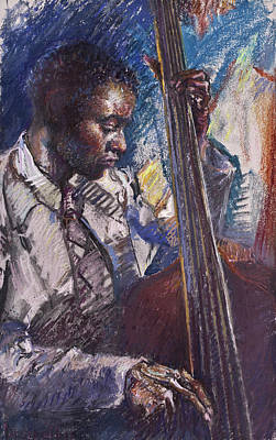 Painting - Jazz Man by Ellen Dreibelbis