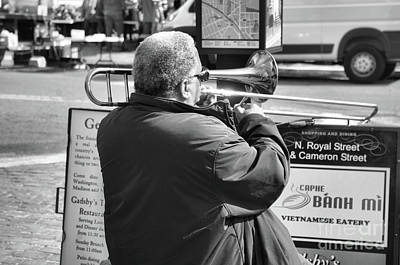 Photograph - Jazz Man by John S