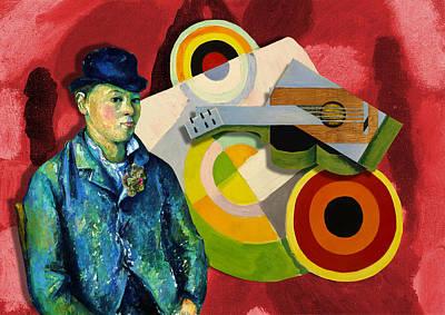 Digital Art - Jazz Man by Laura Botsford