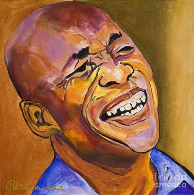 Jazz Man Original by Pat Saunders-White
