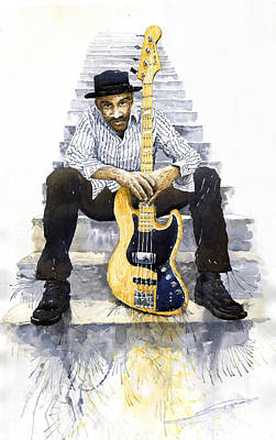 Jazz Marcus Miller 4 Art Print