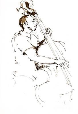 Jazz Musician_1 Art Print