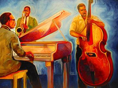Painting - Jazz Night by Emery Franklin