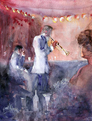 Jazz Nights Art Print by Faruk Koksal