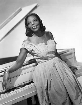 Photograph - Jazz Pianist Mary Lou Williams by Underwood Archives