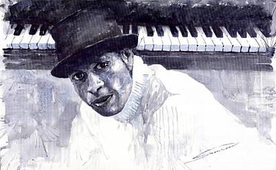 Jazz Roberto Fonseca Art Print