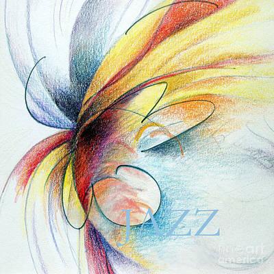 Drawing - Jazz by Rosanne Licciardi