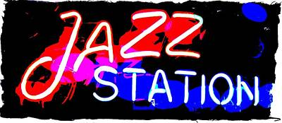 Photograph - Jazz Station by Thom Zehrfeld