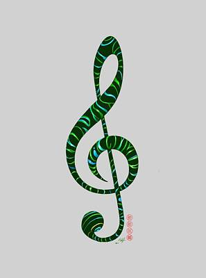 Digital Art - Jazz T by Douglas Day Jones