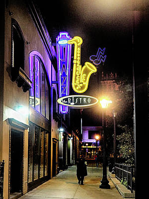 Photograph - Jazz The Bistro 3 by C H Apperson