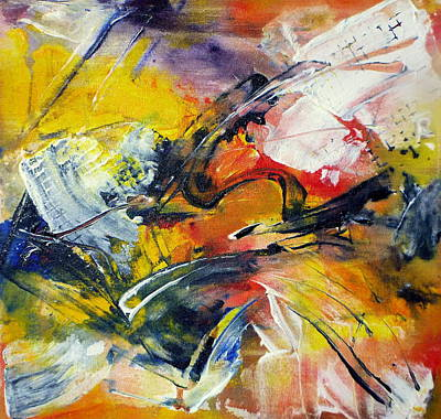 Painting - Jazz by Tracy Bonin