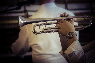 Trumpet Photograph - Jazz Trumpet New Orleans by Garry Gay