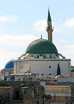 Photograph - Jazzar Mosque by Munir Alawi