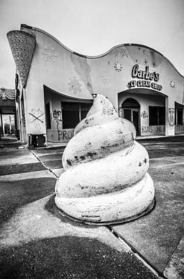 Photograph - Jazzland Ice Cream by Andy Crawford