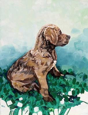 Painting - Jazzmin by Phil Chadwick