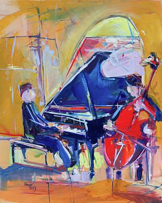 Painting - Jazzy 2 by Drew Davis