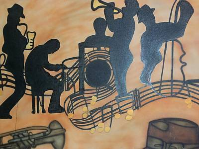 Jazzy Art Print