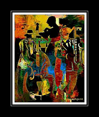 Digital Art - Jazzy Diva 2 by Lynda Payton