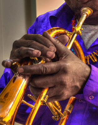 Photograph - Jazzy Hands 937 by Jeff Stallard