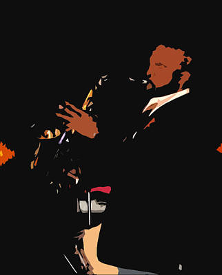 Digital Art - Jazzy by James Granberry