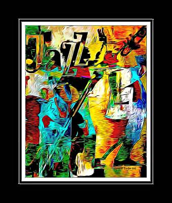 Digital Art - Jazzy by Lynda Payton