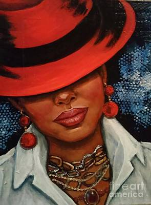 Painting - Jazzy by Alga Washington