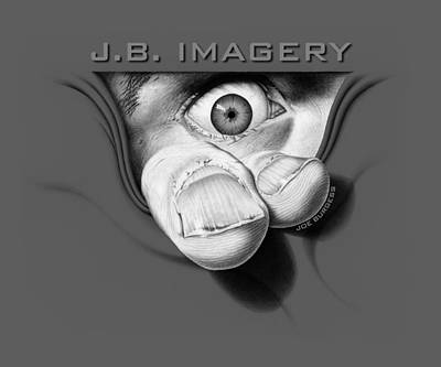 Black And White Digital Art - J.b. Imagery by Joe Burgess
