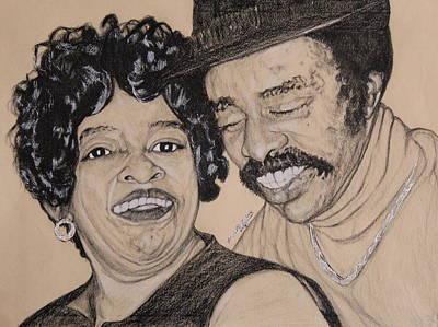 Jb  Wg Portrait Art Print