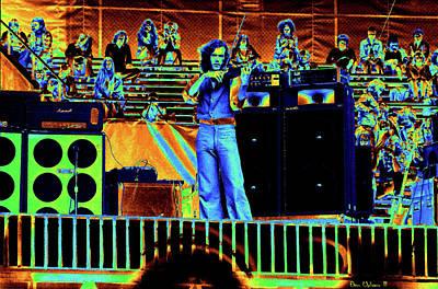 Photograph - Jbart #3 Enhanced In Cosmicolors by Ben Upham