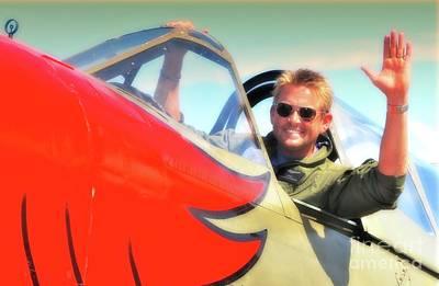 Parrotheads Photograph - Jc Paul And P-40 Parrothead Reno Air Races 2010 by Gus McCrea