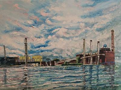 Painting - J.c. Weadock Plant by Rosemary Kavanagh
