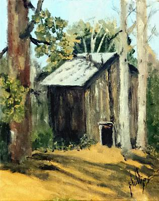 Painting - Jd's Backker Barn by Jim Phillips