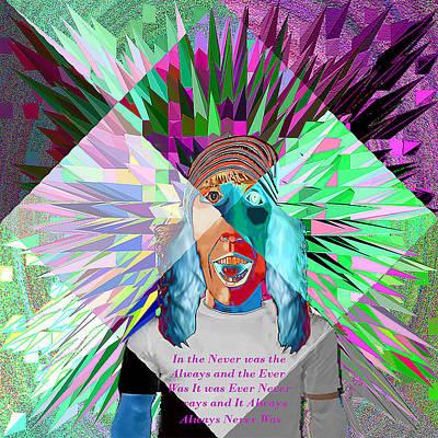 Digital Art - Je Vous Suis by Philip Brent
