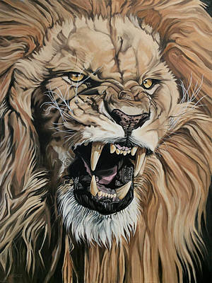 Painting - Jealous Roar by Nathan Rhoads