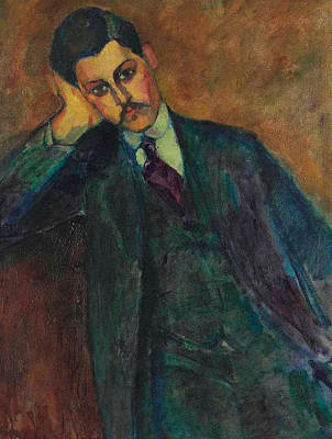Painting - Jean Alexandre, 1909 by Amedeo Modigliani