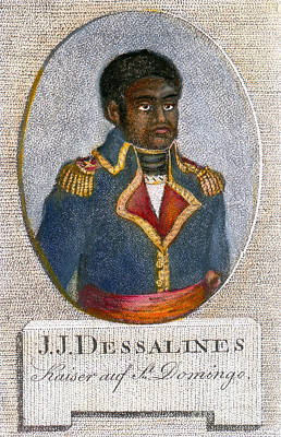 Drawing - Jean-jacques Dessalines by Granger