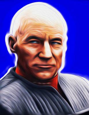 Jean-lic Picard By Nixo Art Print