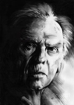 Drawing - Jean-louis Trintignant by Paul Davenport