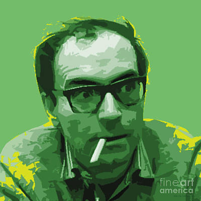 Digital Art - Jean Luc Godard by Jean luc Comperat