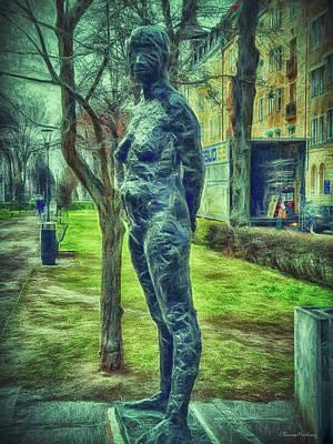 Scupture Digital Art - Jeanette  by Ramon Martinez