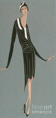 Jeanne Lanvin Fashion Design, 1920 Print by Science Source