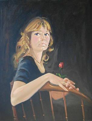 Painting - Jeanne by Len Stomski