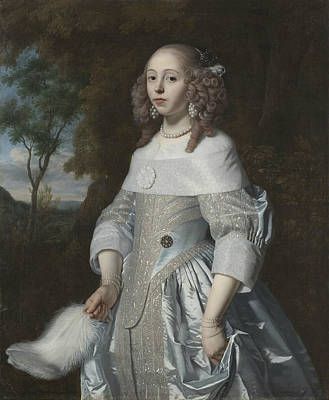 Painting - Jeanne Parmentier by Bartholomeus van der Helst