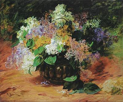 Flower Painting - Jeannin by Georges