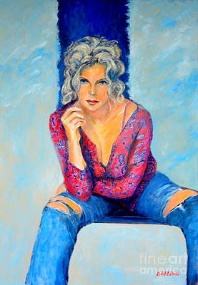 Painting - Jeans II by Dagmar Helbig