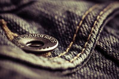 Photograph - Jeans by Yvette Van Teeffelen