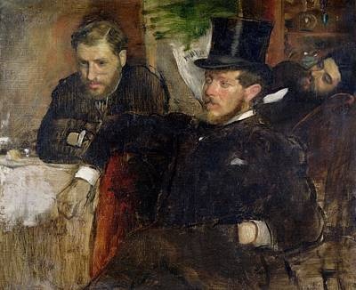 1871 Painting - Jeantaud Linet And Laine by Edgar Degas