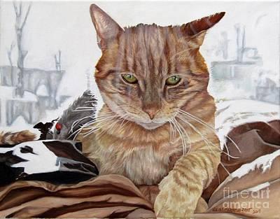 Painting - Jeb by Heidi Parmelee-Pratt